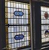twee glas in loodramen in de synagoge te enschede - enschede - 20338391 - rce