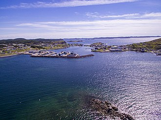 Twillingate - A view of Twillingate