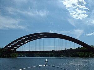 Thaddeus Kosciusko Bridge - Image: Twinbridges