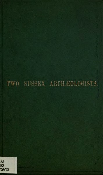 File:Two Sussex archaeologists, William Durrant Cooper and Mark Antony Lower.djvu
