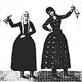 Two dancing women (A fragment of Svetitskhoveli fresco).jpg