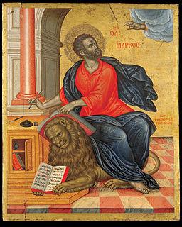 Tzanes Emmanuel - St Mark the Evangelist - Google Art Project