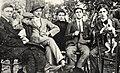 Tzara, M. Janco, J. Janco, Chapier, Vinea (1912).jpg
