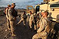 U.S. Marines with Transportation Support Company, Combat Logistics Regiment 2, 2nd Marine Logistics Group, undergo realistic scenarios while executing a combat logistics patrol exercise during Enhanced Mojave 120922-M-KS710-001.jpg