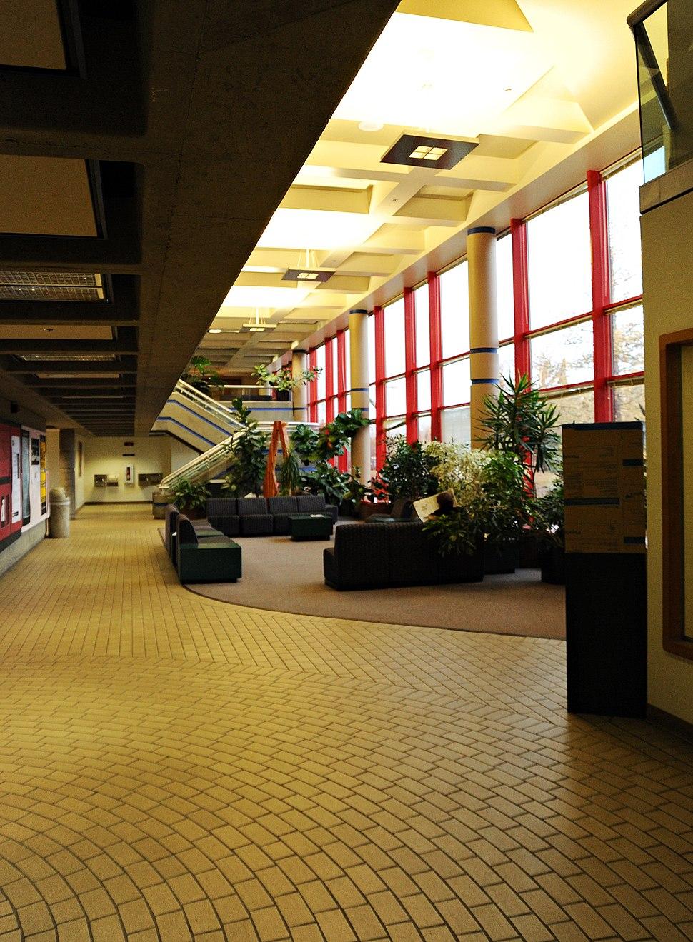UAA Arts Building lobby