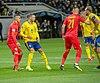 UEFA EURO qualifiers Sweden vs Romaina 20190323 Marcus Berg and Dragos Grigore.jpg