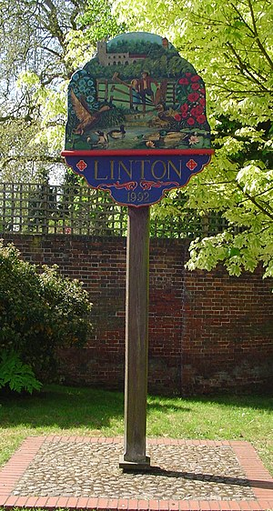 Linton, Cambridgeshire - Image: UK Linton (Cambridgeshire)