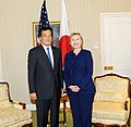 UNGA 2009- Secretary Clinton Meets With Japanese Foreign Minister (3954433576).jpg