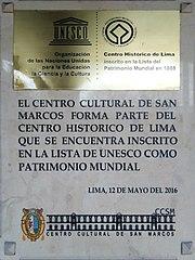 Universidad Nacional Mayor De San Marcos Wikipedia La