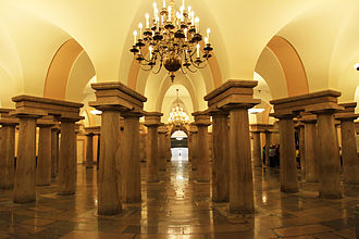 United States Capitol crypt - Capitol crypt