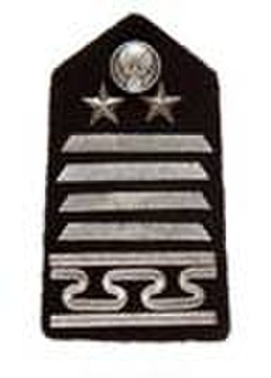 Officer cadet - The shoulderboard insignia of the USAF Academy cadet vice wing commander