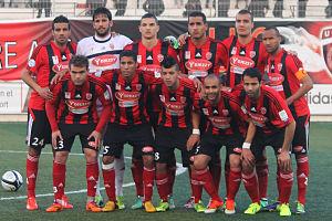 Algiers Derby - Image: USM Alger, 2014 02 15