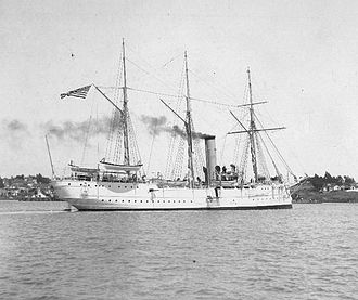 Battle of Manila Bay - Image: USRC Mc Culloch, circa 1900