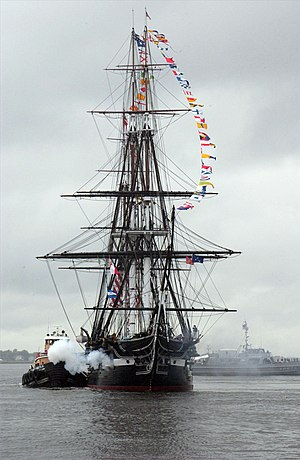 Edward Clifford Anderson, SR - Image: USS Constitution Salutes III
