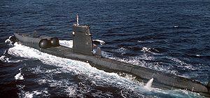 USS Grayback (SSG-574) - 1982 view