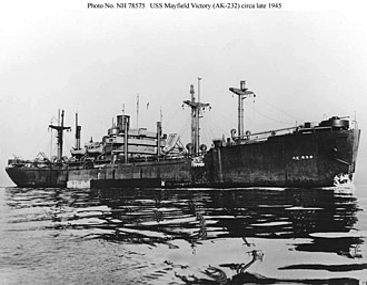 USS Mayfield Victory (AK-232) - Image: USS Mayfield Victory (AK 232)