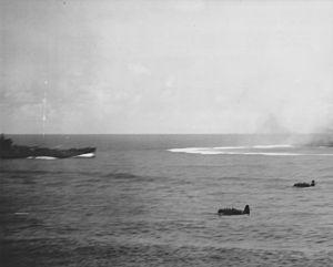USS South Dakota with Kates Battle of Santa Cruz NARA 19LCM-BB57-2.jpg