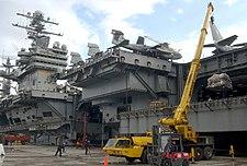 USS Theodore Roosevelt - resplenishment
