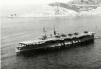 USS Wright (CVL-49) underway in the early 1950s.jpg