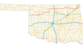 US Route In Oklahoma Wikipedia - Us 60 map