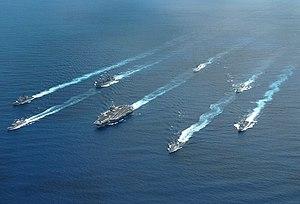 Carrier Strike Group 7 - Stennis Battle Group at RIMPAC 2004