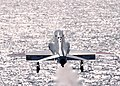 US Navy 060617-N-0490C-011 A naval aviator student pilot flying a T-45C Goshawk takes off from the flight deck of the Nimitz-class aircraft carrier USS Dwight D. Eisenhower (CVN 69) during training command carrier qualification.jpg