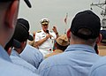 US Navy 090704-N-1083F-048 Chief of Naval Operations (CNO) Adm. Gary Roughead speaks with Sailors during an all-hands call in Yokuska, Japan.jpg