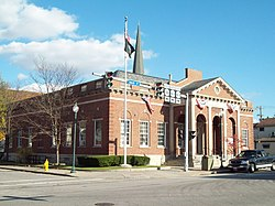 US Post Office-Dansville Oct 09.JPG