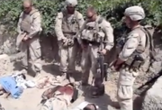 US marines urinating on corpses