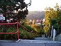 U Sanopzu, schodiště z Xaveriovy dolů.jpg