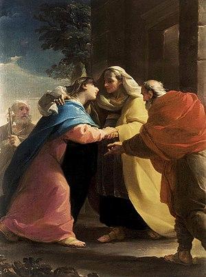 Ubaldo Gandolfi - Image: Ubaldo Gandolfi Visitación 1767 col par