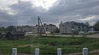 Ugra city from railway line IMG 20190511 174833 1.jpg