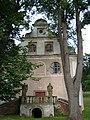 Ulanowice, front kościoła, 08.2010.JPG