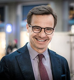 Ulf Kristersson in 2018 Swedish general election, 2018.jpg