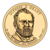 Ulysses S. Grant $1 Presidential Coin obverse.png