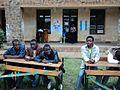 Un Bureau de vote ((Collège Alfajiri) qui attend les retardataires au vote à Bukavu, deux heures avant la clôture (6424786457).jpg