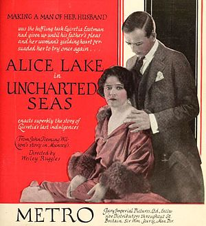 Uncharted Seas - Advertisement for film