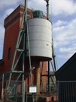 Hydraulic accumulator - Hydraulic engine house, Bristol Harbour