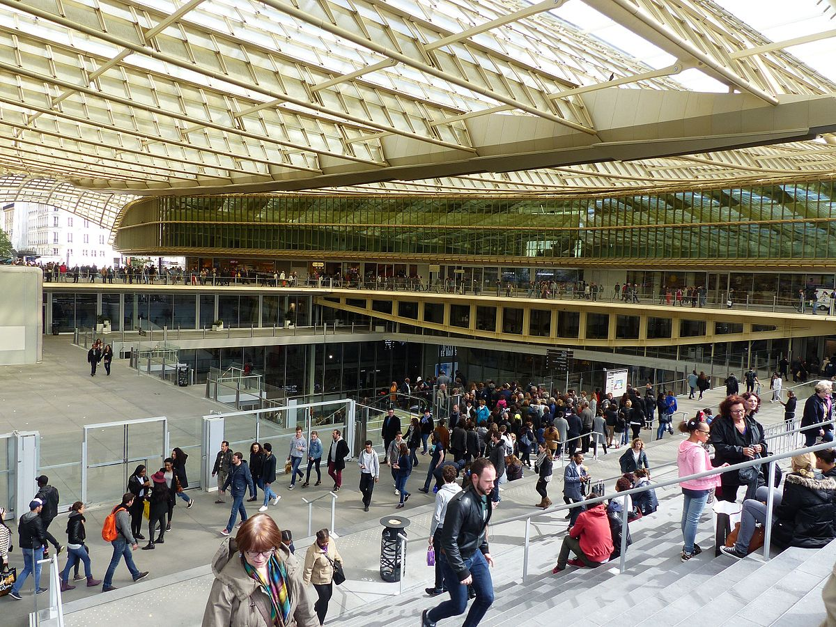 Les halles markt wikipedia - Les halles boutiques ...