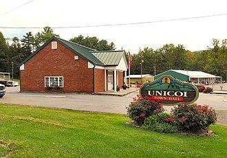Unicoi, Tennessee - Unicoi Town Hall