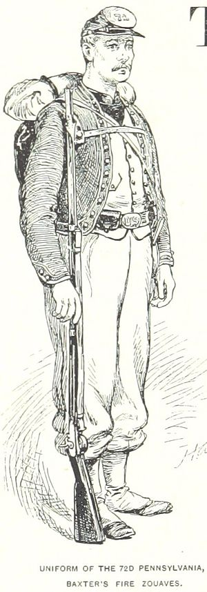 72nd Pennsylvania Infantry - The uniform of the regiment