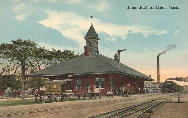 Union Station, Athol, MA