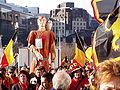 United Belgium Brussels demonstration 20071118 DMisson 00078 rue de la Verveine Thyl Uilenspiegel giant.jpg