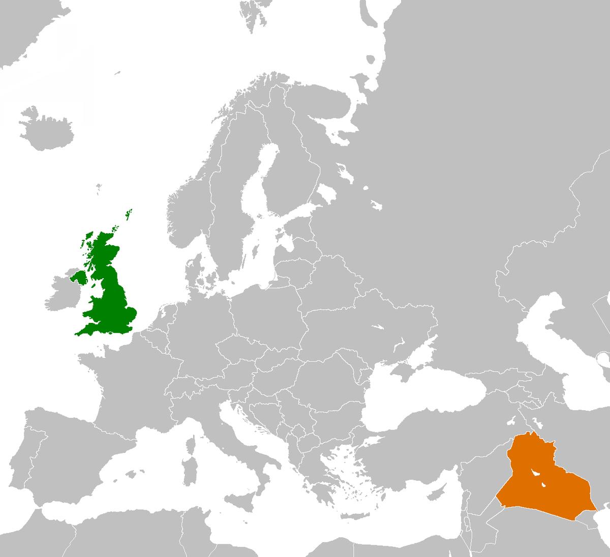 Iraq–United Kingdom relations - Wikipedia