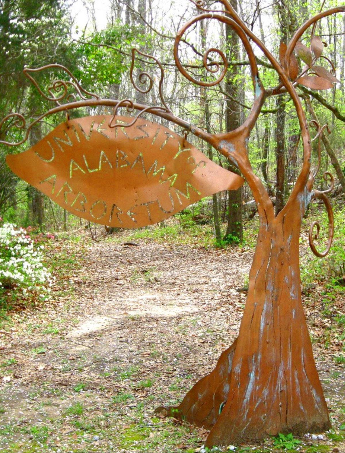 university of alabama arboretum