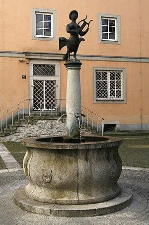 University of Art and Design Linz - Image: University of Art and Industrial Design Linz 2008 fountain