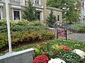 University of Massachusetts at Amherst campus view memorial for soldiers.JPG