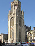 Wills Memorial Building, Universitato de Bristol