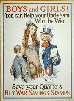 "James Montgomery Flagg 1917 poster: ""Boys..."