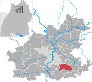 Untergruppenbach - Image: Untergruppenbach in HN